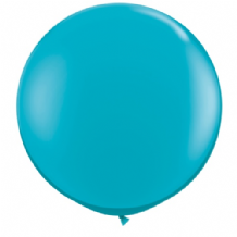 3ft Giant Balloons - Teal Latex Balloon 1pc